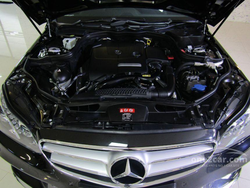 2014 Mercedes-Benz E200 Avantgarde Sedan