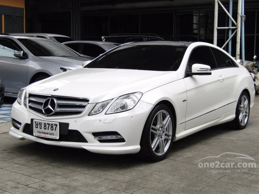 2013 Mercedes-Benz E200 Coupe