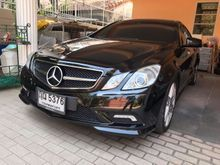 2011 Mercedes-Benz E200 CGI BlueEFFICIENCY W207 (ปี 10-16) AMG 1.8 AT Convertible