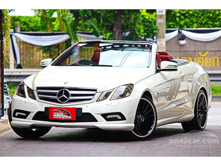 2011 Mercedes-Benz E200 CGI AMG Convertible