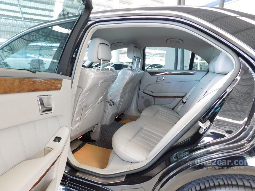 2011 Mercedes-Benz E200 CGI Elegance Sedan