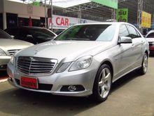 2010 Mercedes-Benz E200 CGI BlueEFFICIENCY W212 (ปี 10-16) 1.8 AT Sedan