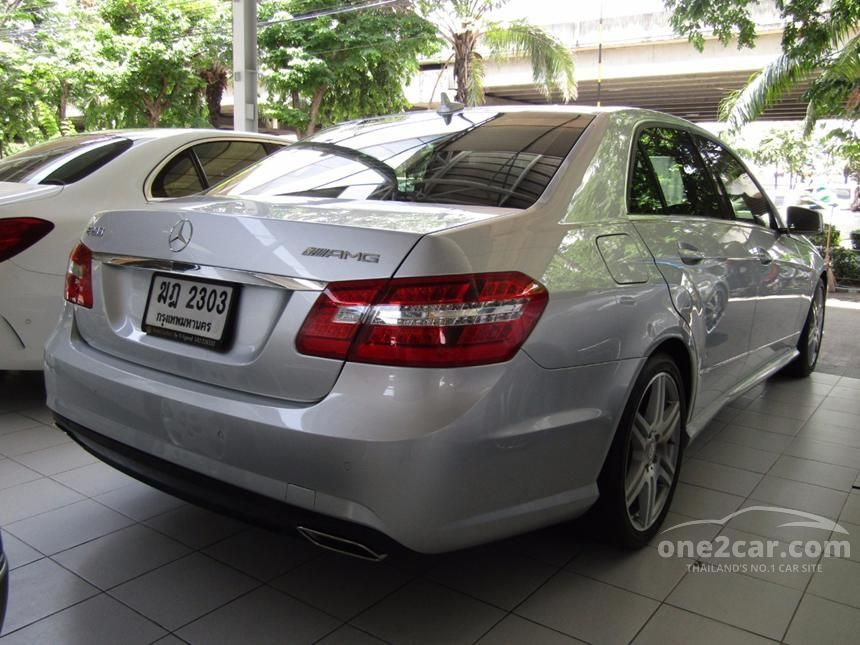 2012 Mercedes-Benz E200 CGI Sedan