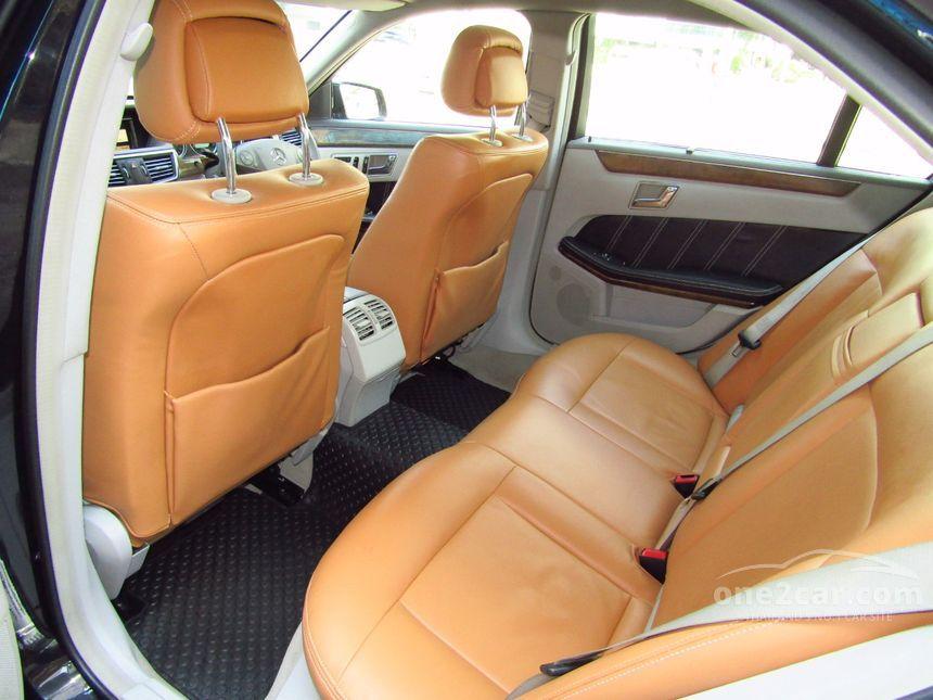 2011 Mercedes-Benz E200 CGI Sedan