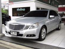 2011 Mercedes-Benz E200 CGI BlueEFFICIENCY W212 (ปี 10-16) 1.8 AT Sedan