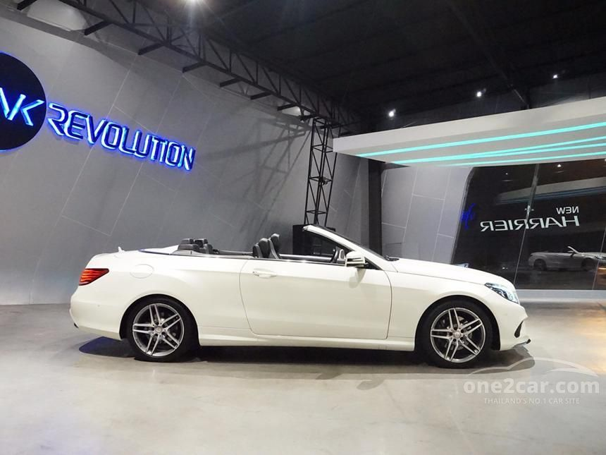 2015 Mercedes-Benz E200 CGI Sport Convertible