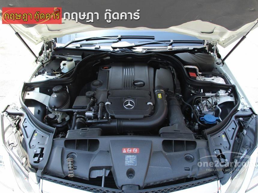 2012 Mercedes-Benz E200 CGI Sport Coupe