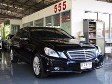 2010 Mercedes-Benz E200 CGI BlueEFFICIENCY W212 (ปี 10-16) Elegance 1.8 AT Sedan