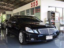 2010 Mercedes-Benz E200 CGI BlueEFFICIENCY W212 (ปี 10-16) Elegance 1.8 AT Sedan