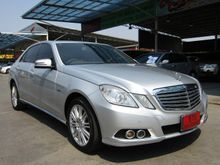 2011 Mercedes-Benz E200 CGI BlueEFFICIENCY W212 (ปี 10-16) Elegance 1.8 AT Sedan