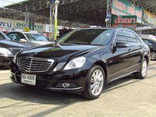 2011 Mercedes-Benz E200 CGI BlueEFFICIENCY W212 (ปี 10-16) Elegance 1.8 AT Sedan