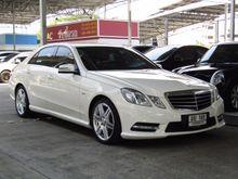 2012 Mercedes-Benz E200 CGI BlueEFFICIENCY W212 (ปี 10-16) 1.8 AT Sedan