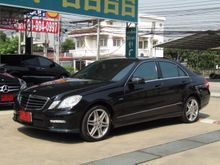 2010 Mercedes-Benz E200 CGI BlueEFFICIENCY W212 (ปี 10-16) 1.8 AT Sedan