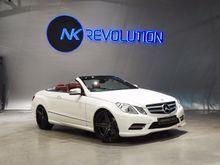 2014 Mercedes-Benz E200 CGI BlueEFFICIENCY W207 (ปี 10-16) Sport 1.8 AT Convertible