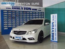 2012 Mercedes-Benz E200 CGI BlueEFFICIENCY W207 (ปี 10-16) Sport 1.8 AT Coupe