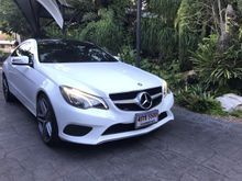 2013 Mercedes-Benz E200 CGI BlueEFFICIENCY W207 (ปี 10-16) Sport 1.8 AT Coupe