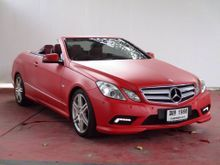 2011 Mercedes-Benz E200 BlueEFFICIENCY W207 (ปี 10-16) 1.8 AT Coupe