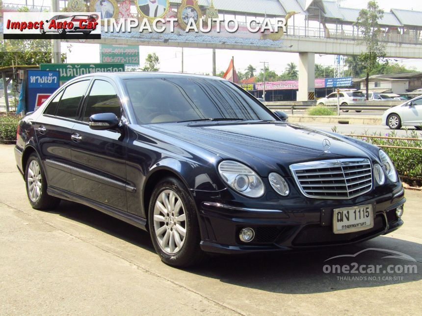 2009 Mercedes-Benz E200 Elegance Sedan