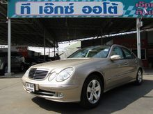 2007 Mercedes-Benz E200 Kompressor W211 (ปี 03-09) Avantgarde 1.8 AT Sedan