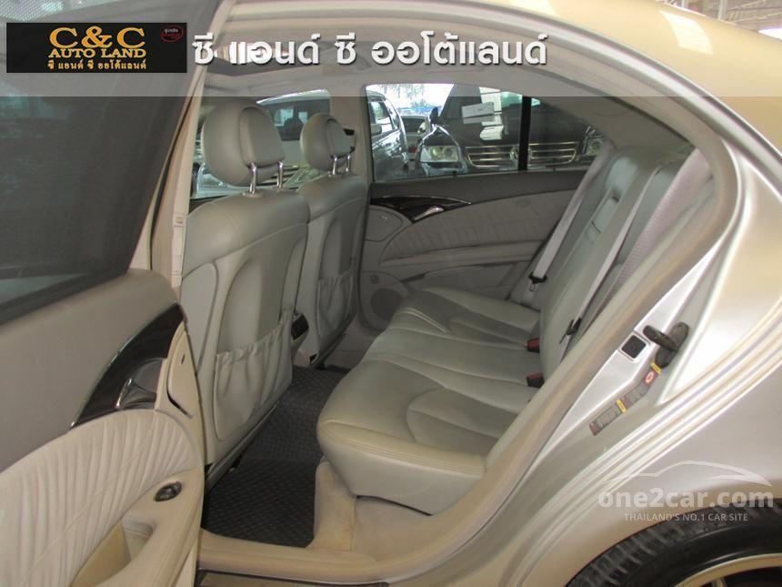 2005 Mercedes-Benz E200 Kompressor Avantgarde Sedan