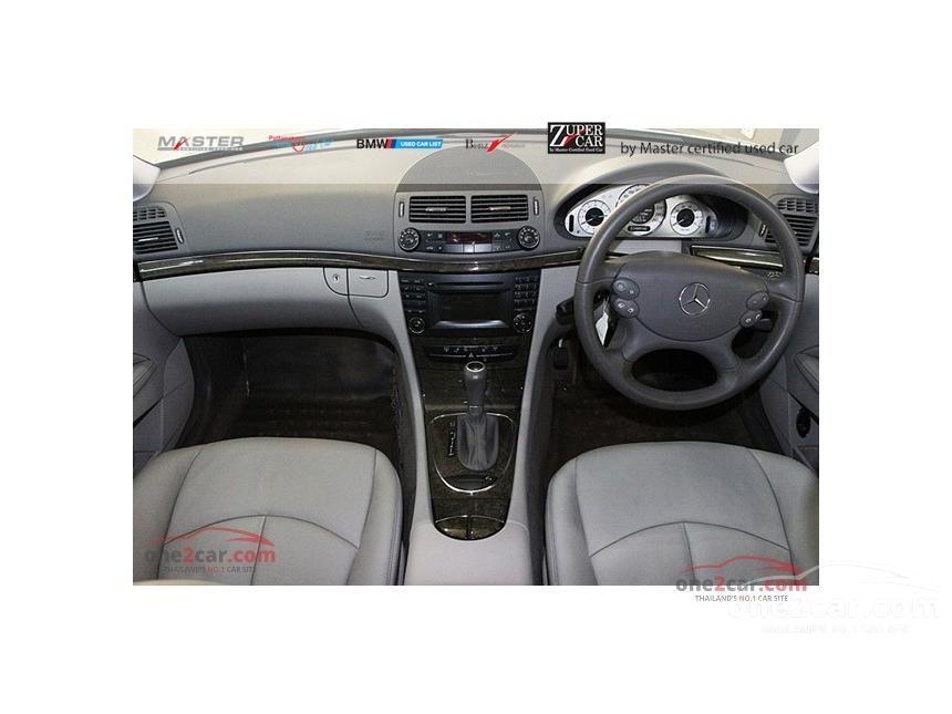 2009 Mercedes-Benz E200 Kompressor Avantgarde Sedan