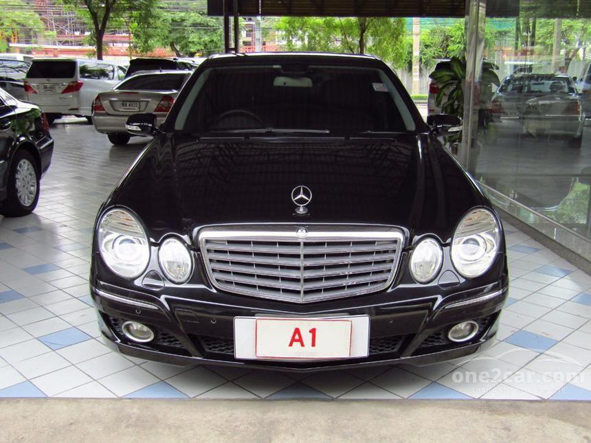 2009 Mercedes-Benz E200 Kompressor Elegance Sedan