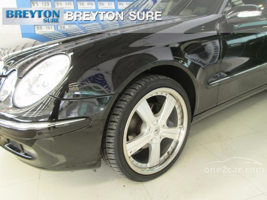 2006 Mercedes-Benz E200 Kompressor Elegance Sedan