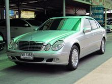 2003 Mercedes-Benz E200 Kompressor W211 (ปี 03-09) Elegance 1.8 AT Sedan