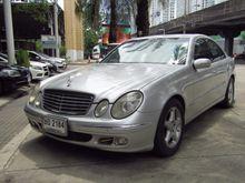 2004 Mercedes-Benz E200 Kompressor W211 (ปี 03-09) Elegance 1.8 AT Sedan