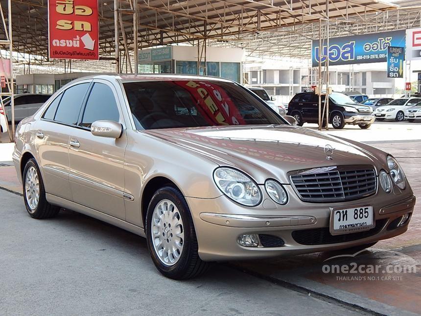 2004 Mercedes-Benz E200 Kompressor Elegance Sedan