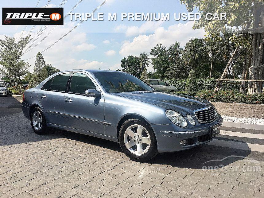 2005 Mercedes-Benz E200 Kompressor Elegance Sedan