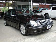 2006 Mercedes-Benz E200 Kompressor W211 (ปี 03-09) Elegance 1.8 AT Sedan