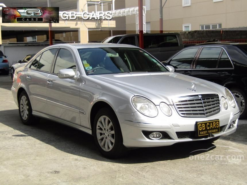2007 Mercedes-Benz E200 Kompressor Elegance Sedan