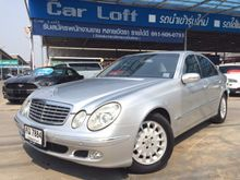 2004 Mercedes-Benz E200 Kompressor W211 (ปี 03-09) Elegance 1.8 AT Sedan