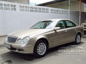 2003 Mercedes-Benz E200 Kompressor 1.8 W211 (ปี 03-09) Elegance Sedan AT