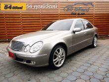2005 Mercedes-Benz E200 Kompressor W211 (ปี 03-09) Elegance 1.8 AT Sedan
