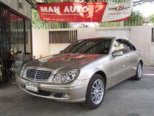 2003 Mercedes-Benz E200 Kompressor W211 (ปี 03-09) Elegance 1.8 AT Sedan
