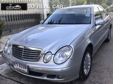 2006 Mercedes-Benz E200 Kompressor W211 (ปี 03-09) Elegance 1.8 AT Sedan