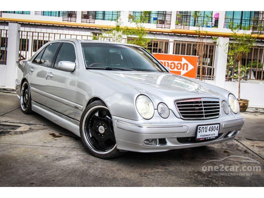 2002 Mercedes-Benz E200 Kompressor Sedan