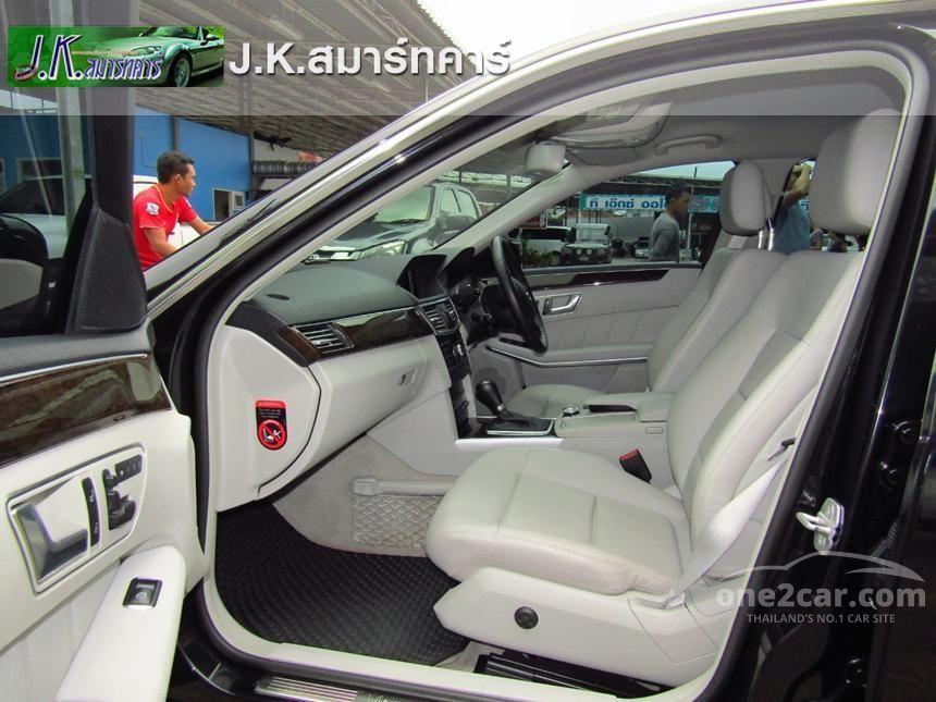 2012 Mercedes-Benz E200 NGT Sedan