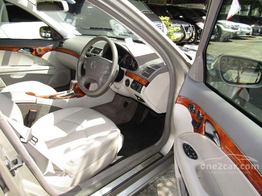 2007 Mercedes-Benz E200 NGT Sedan