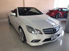 2012 Mercedes-Benz E200 BlueEFFICIENCY W207 (ปี 10-16) Sport 1.8 AT Convertible
