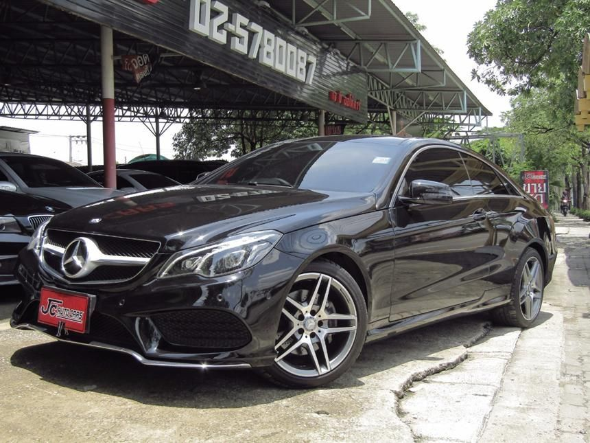 2015 Mercedes-Benz E200 Sport Coupe