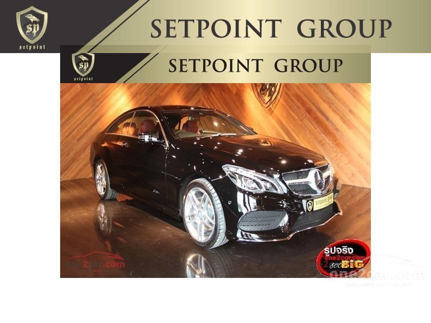 2015 Mercedes-Benz E200 Sport Coupe