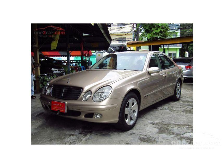2007 Mercedes-Benz E220 CDI Classic Sedan