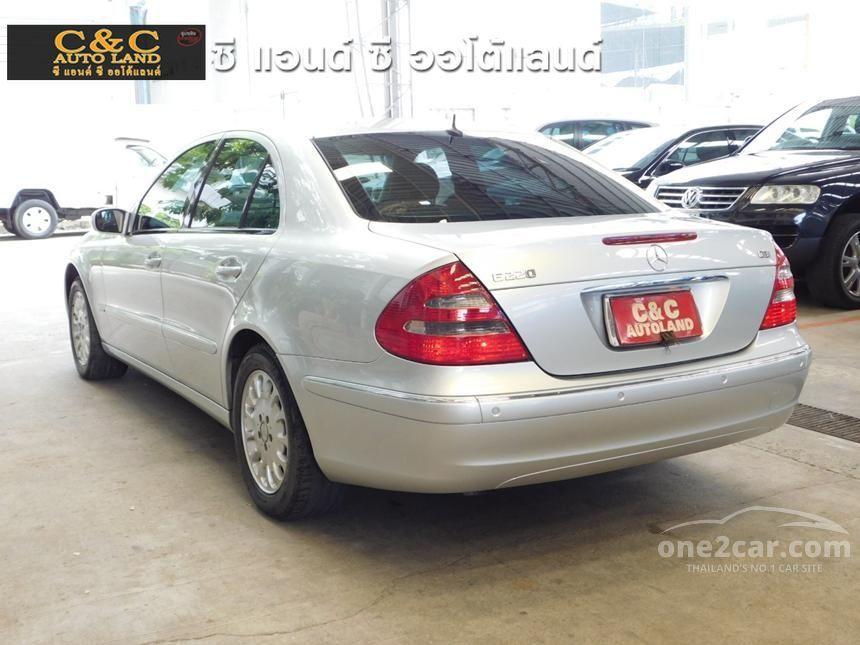 2004 Mercedes-Benz E220 CDI Elegance Sedan
