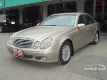 2004 Mercedes-Benz E220 CDI W211 (ปี 03-09) Elegance 2.1 AT Sedan