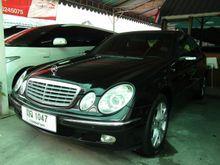 2002 Mercedes-Benz E220 CDI W211 (ปี 03-09) Elegance 2.1 AT Sedan
