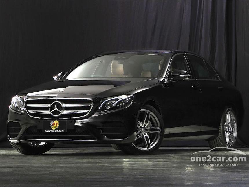 Mercedes Benz E220 2018 D Amg Sport 2 0 In กรุงเทพและ