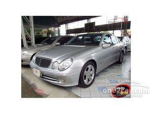 2002 Mercedes-Benz E240 2.6 W211 (ปี 03-09) Avantgarde Sedan AT
